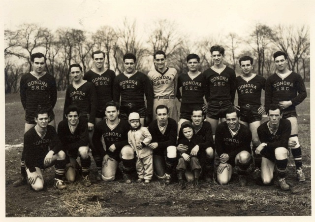 Donora SpanSoccer 1947-48