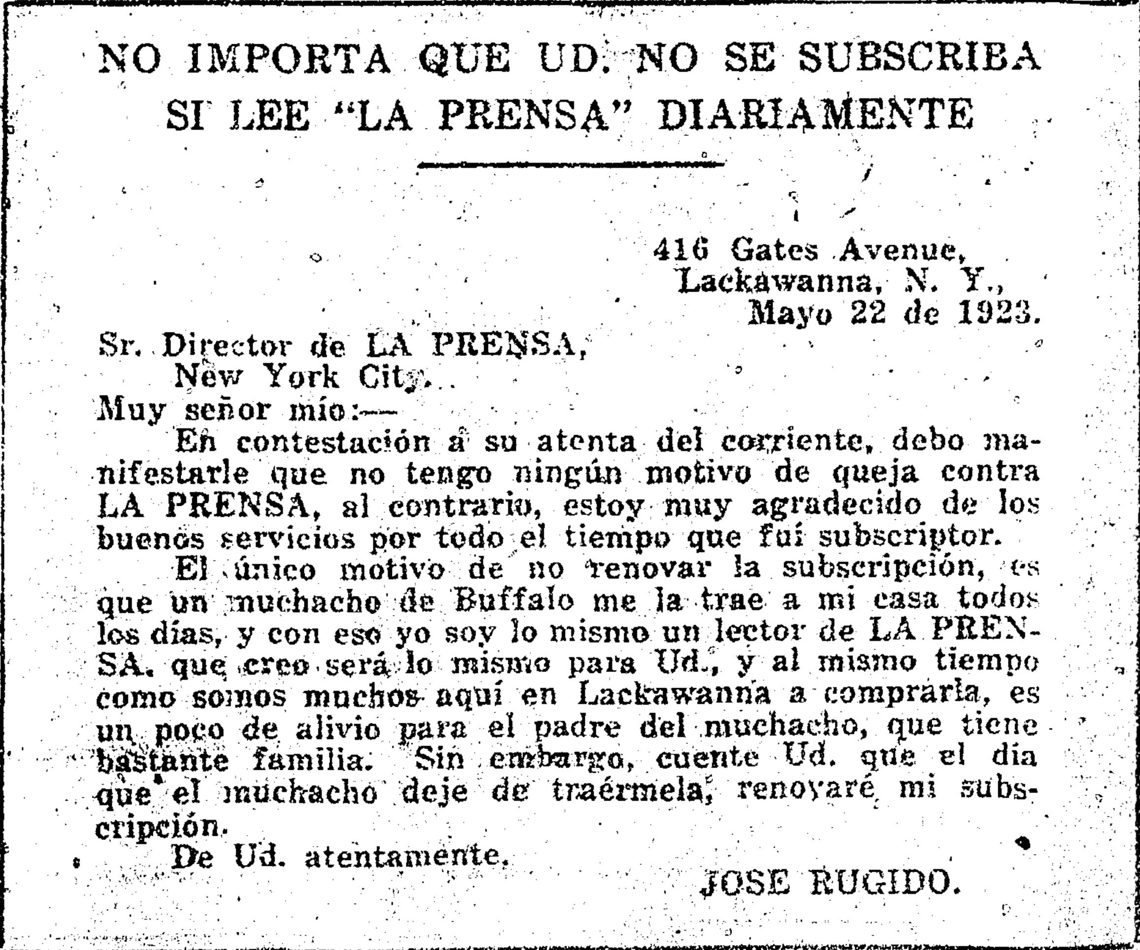 prensa,26may1923.